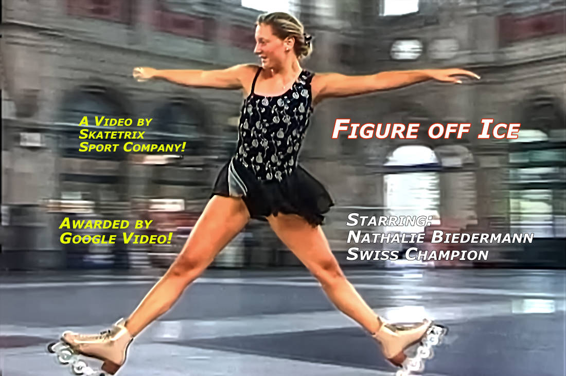 Video: FIGURE OFF ICE! AWARDED BY GOOGLE VIDEO! Shows a figure skating performance in a historical building fraom the 19th century. With Swiss champion NATHALIE BIEDERMANN.